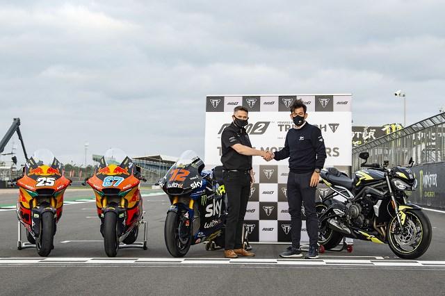 Silniki Triumpha Street Triple przez kolejne 3 lata w Moto2!