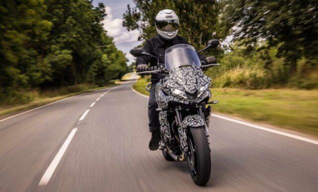 Triumph testuje swój nowy motocykl – Tiger Sport 660 pojawi się już niebawem