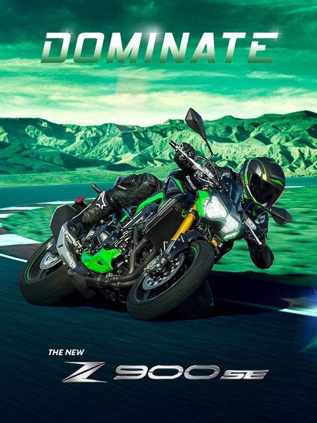 Poznajcie nowe, jeszcze lepsze Kawasaki Z900 w wersji SE na 2022!