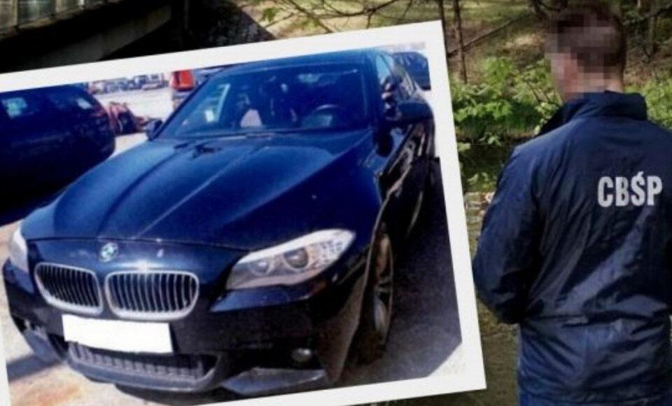 CBS samochod mafii policja gdansk