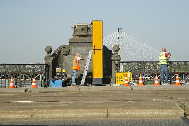 fotoradar na most poniatowskiego