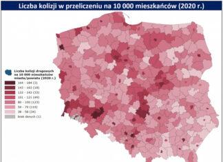 mapa wypadków i kolizji ubea